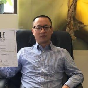 Property Agent Garry Zhou