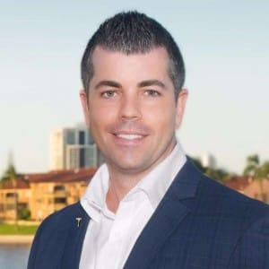 Property Agent Mitch Palmer