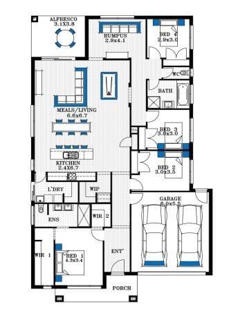 Property 2249, Elimatta rd, MAMBOURIN VIC 3024 secondary FLOORPLAN